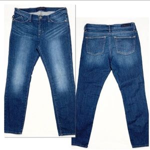Rock & Republic Kashmiere Crop Skinny Jeans Sz 10